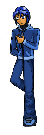 Coby is short for Cobalt. Woo, trivia!