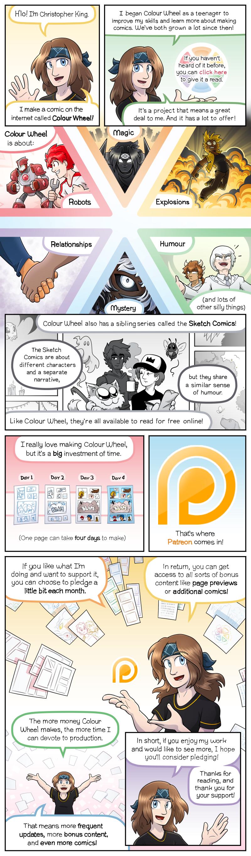 Patreon Info Comic 1